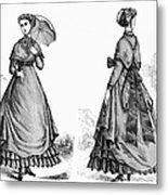 Fashion: Women, 1868 Metal Print