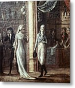 Fashionable Parisians, 1799 Metal Print