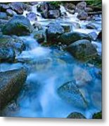 Fast-flowing River Metal Print