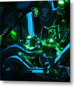 Fat Boy Abstract Metal Print