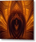 Fawning Obsequiousness Metal Print