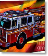 Fdny Engine 68 Metal Print