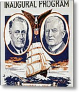 Fdr: Inauguration, 1933 Metal Print