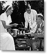 Fdr Presdidency. First Lady Eleanor Metal Print