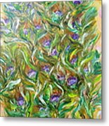 Feather Luster Metal Print