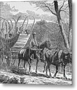 Federal Camp Contraband, 19th Century Metal Print