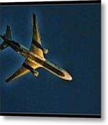Fedex Plane Metal Print