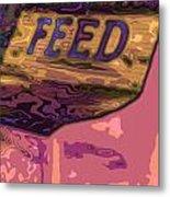Feed Store 2 Metal Print