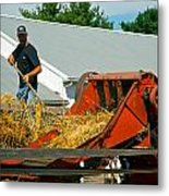 Feed The Machine Metal Print
