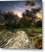 Feeling Over The Weather Metal Print