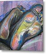 Feet Metal Print