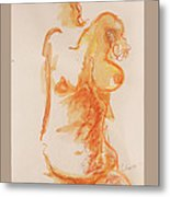Female Form Metal Print