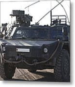 Fennek Armored Reconnaissancd Vehicles Metal Print