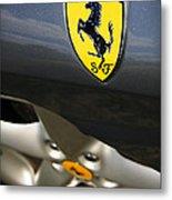 Ferrari 360 Spider F1 Metal Print