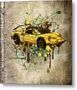Ferrari Dino 246 Gts Metal Print
