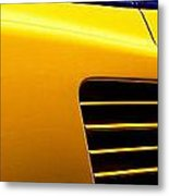 Ferrari Side Metal Print