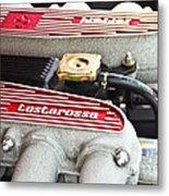 Ferrari Testarossa Metal Print by Andrew  Cragin