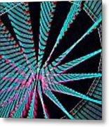 Ferris Tracings 560 Metal Print