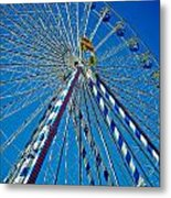 Ferris Wheel - Nuremberg  Metal Print by Juergen Weiss