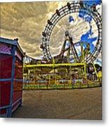 Ferris Wheel - Vienna Metal Print