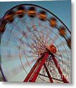 Ferris Wheel Iv Metal Print