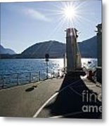 Ferry Harbour Metal Print