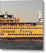 Ferry Time Metal Print
