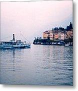 Ferry To Bellagio On Lake Como Metal Print