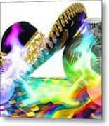 Festive Fiesta Metal Print