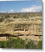 Fewkes Canyon Cliff Dwelling Metal Print