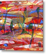 Fields Metal Print