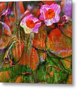 Fields Of Seeds Metal Print