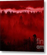 Fiery Forest  Metal Print