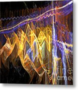 Fiesta - Abstract Art Metal Print