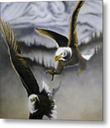 Fight In Flight 1 Metal Print