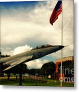 Fighter Jet Panama City Fl Metal Print