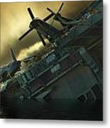 Fighter Jets Home Metal Print