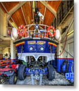 Filey Lifeboat Metal Print