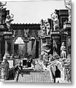 Film Set: Intolerance, 1916 Metal Print