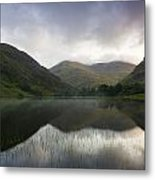 Fin Lough, Delphi Valley, Co Galway Metal Print