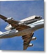 Final Flight Endeavour Metal Print