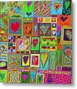 find U'r Love found    v15 Metal Print