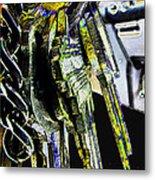 Finding The Right Keys  Art Metal Print