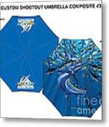 Fine Art Umbrellas Metal Print
