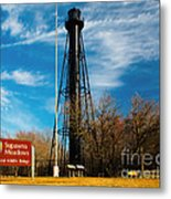 Finns Point Light Metal Print