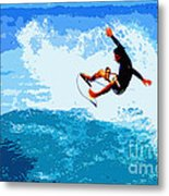 Fins Free Metal Print by Paul Topp