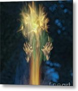 Fire Angel Metal Print