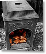 Fire Box Metal Print