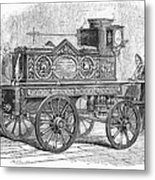 Fire Engine, 1862 Metal Print
