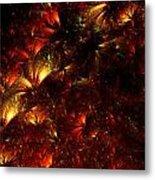 Fire-flowers Metal Print